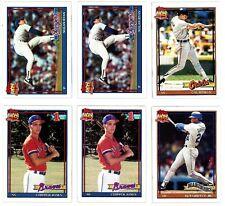 1991 TOPPS BASEBALL Key cards, U-PICK for $1.95 each, NM/M