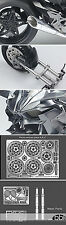 1/12 KAWASAKI NINJA H2R DETAIL UP SET for 1/12 TAMIYA WR HOLDER 0-400KMh