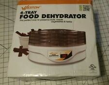 Weston 4-Tier Food Dehydrator 75-0601-W Food Dehydrator NEW