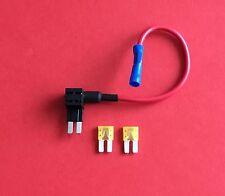 1 X añadir Un Circuito Fusible Grifo Piggy Back Micro 2 hoja fusibles fusible titular 2x20amp