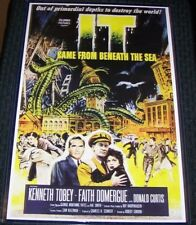 It Came From Beneath the Sea 11X17 Monster Sci Fi Horror Movie Poster
