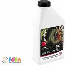 FLESH COLOURED LIQUID LATEX 16oz ZOMBIE halloween make up fancy dress face paint