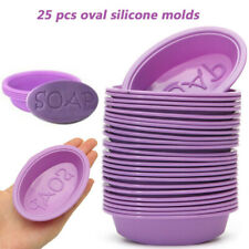 25Pcs Silicone Soap Molds Handmade Making Molds Baking DIY Mold For Baking Mould