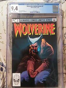 Cgc 9.4 Wolverine 3 Limited Series