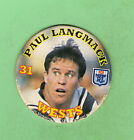 1994 NSW LEAGUE TAZO #31 PAUL LANGMACK , WESTERN SUBURBS MAGPIES