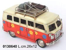 FURGONCINO BUS Volkswagen  MODELLINO IN METALLO LATTA