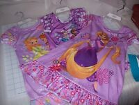 GIRLS DISNEY SHORT SLEEVE NIGHTSHIRT MULTIPLE COLORS / CHARACTERS NEW WITH TAGS
