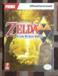The Legend Of Zelda A Link Between Worlds Prima Official Strategy Game Guide
