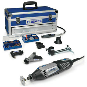 Dremel 4000-6128 Platinum Multi-tool Kit Strong, Dynamic And Full Control