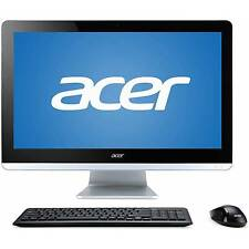 Acer PC Intel QuadCore N3150 2.08GHz 4GB 500GB DVDRW Wifi HDMI W10H Crack Screen