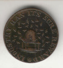 GB ISAAC NEWTON 1/4D 1793 COPPER TOKEN        252C             BY COINMOUNTAIN