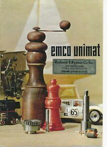 Emco Unimat catalog