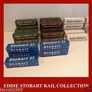 Stobart Rail, Eddie Stobart, Rail Freight Model Card Kits 40ft/45ft N 1:160 x 3