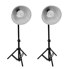 2 New Photo Video Studio Continuous Sparkler Dome Light Kit Stand For Tent UK