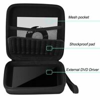 For CD DVD Writer Blu-Ray & External Hard Drive Portable Carry Case Cover Bag