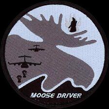 USAF 517th AIRLIFT SQ  - C-17 - MOOSE DRIVER- Elmendorf AFB, AK - ORIGINAL PATCH
