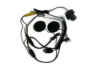 Motorcycle Headset for Kenwood 2 Way Radio/Walkie Talkie