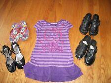 Girls Sz 6 Shoes - dress & Flip Flops & Dress Shoes 1X418