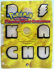 Pokemon Pikachu World Collection Only Folder No Cards