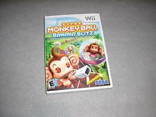 Super Monkey Ball Banana Blitz Nintendo Wii COMPLETE WORKING w/Excellent Disc