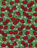 Timeless Treasures Ladybugs on Grass Floral 100% cotton Fabric by the yard