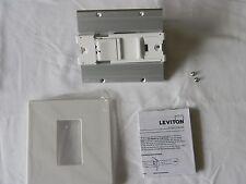 LEVITON AWSMT-ICW LIGHTING DIMMER SWITCH WHITE PRESET SLIDE INCANDESCENT LIGHT