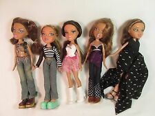 BRATZ  Doll Lot Of 5 Full Size, fully dressed,Excellent MGA