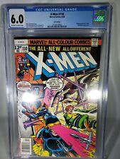 Uncanny X-Men #110 CGC 6.0 1978...CGC 2110010002 RARE UK EDITION....