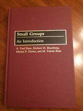 Small Groups by M.Valerie Kent Hardcover Book (English) FREE SHIPPING!