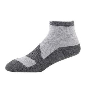 SealSkinz Walking Thin - Waterproof Socklet - Grey Marl / Dark Grey