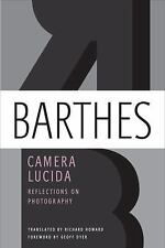 Camera Lucida by Roland Barthes (2010, Paperback, Reprint)