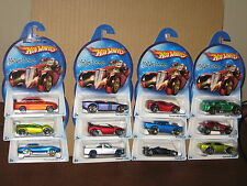 Hot Wheels 2006 Holiday Hotrods Complete Set Lot of 12 Gov'ner Lancer 360 Modena