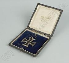 Cruz de hierro, 1914, 2. clase, ek2, Prusia, herstellerpunze, estuche, 1.wk/698