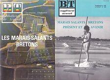 Les marais-salants bretons BT 1983 N°944 et supplément N°465