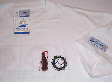 1998 WORLD CUP COCA COLA FRANCE 98 SOCCER OFFICIAL T-SHIRT