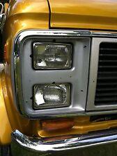 4x Scheinwerfer H4 NEU GMC G20 Vandura G10 G30 Van Chevy GM Umrüstung Chevrolet