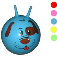 PUPPY DOG BOUNCING HIPPITY HOP BALL fun kids toy balls childrens ride on bounce