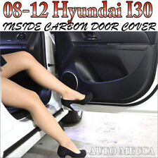INSIDE CARBON DOOR COVER KICK PAD Scratch Protect For 2008-2012 Hyundai I30