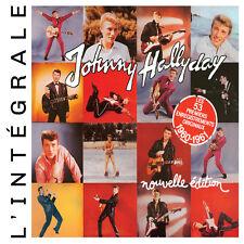 CD Johnny Hallyday : Intégrale 1960 - 1961 / Coffret Digipack 2 CD