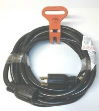 Generator Extension Cord 25ft 104 Sjtw Cable 30 Amp L14 30 Twist Lock