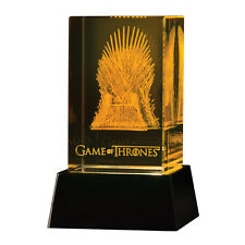 DARK HORSE Game of Thrones: 3D Crystal Throne with Lighted LED Base NEW - SEALED