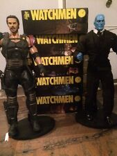 Lot Of 7 Watchmen Figures  From DCDirect Rorschach Comedian Dr Manathan1:6 Scale