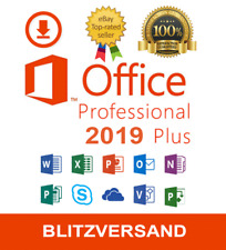 Microsoft Office 2019 Professional Plus ✔ 32/64 Bit ✔ Vollversion Lizenz - Key ✔