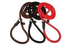 Laisses noires avec corde pour chien