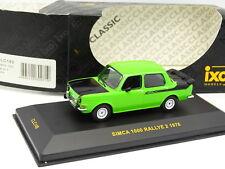Ixo 1/43 - Simca 1000 Rallye 2 1976 Verte