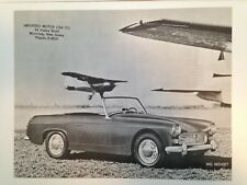 MG Midget 1961 Dealer Sales Specification Sheet - Original - Near Mint Condition