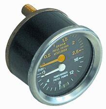 WEGA PART W10790 OR W10791  manometer double scale ø 60mm FOR Espresso Machines