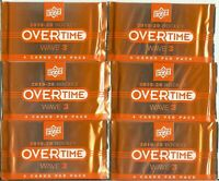 2019-2020 Upper Deck Overtime Hockey Factory Sealed Booster | 1 Pack | Rare