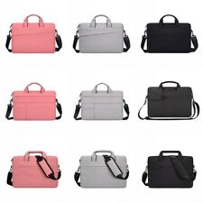 """13.3-15.6"""" Inch Laptop Bag Notebook Computer Shoulder Carry Case Padded Pouch UK"""