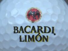 (1) Bacardi Limon Rum Alcohol Logo Golf Ball